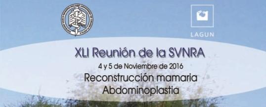 XLI Reunión de la SVNRA San Sebastián. Reconstrucción mamaria. Abdominoplastia